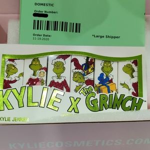 I Hate Christmas lipstick KyliexGrinch Collection